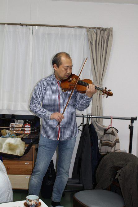 八幡西区山寺町 グループホームいきいき桜苑🌸 バイオリン演奏会③