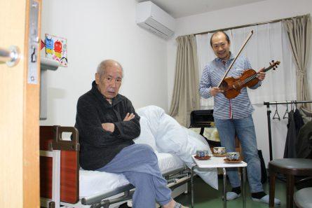 八幡西区山寺町 グループホームいきいき桜苑🌸 バイオリン演奏会⑤