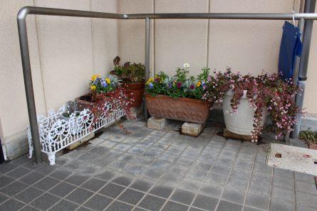 八幡西区山寺町 グループホームいきいき桜苑🌸 玄関前①