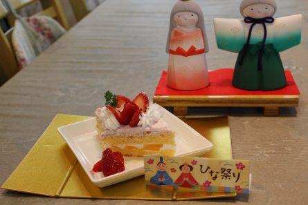 ひな祭りケーキ④